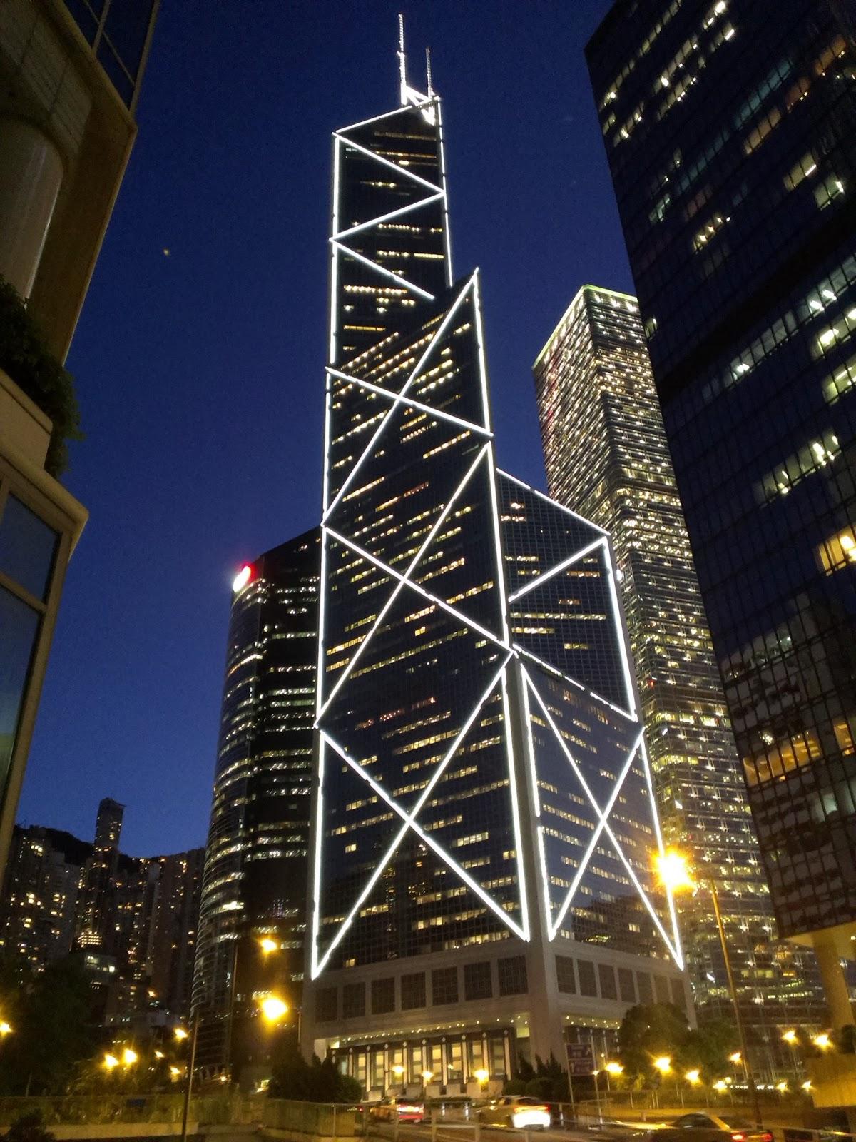 港澳吃飯團-香港-中國銀行大樓
