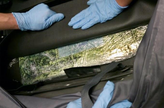Dominicanos detenidos en aeropuerto Logan de Boston con 7 kilos de cocaína en maleta