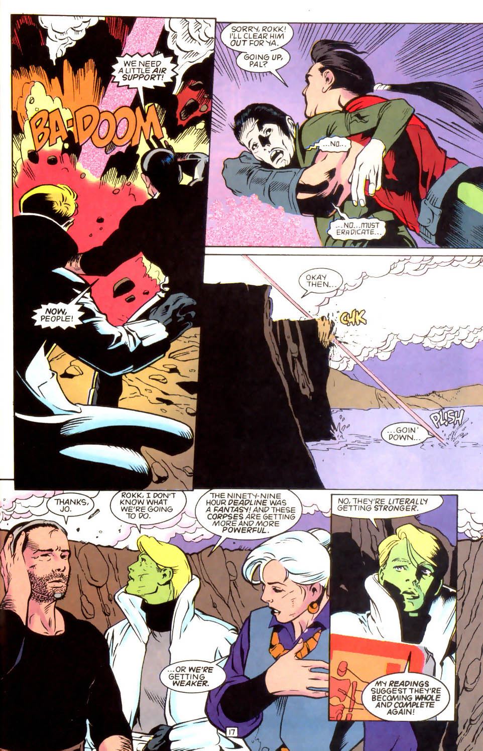 Legion of Super-Heroes (1989) 46 Page 17