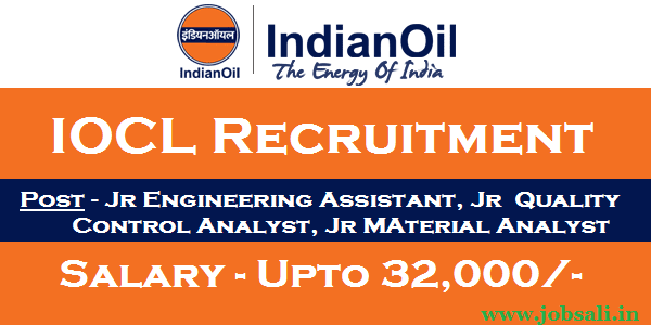 Indian Oil Recruitment, IOCL Careers, Govt jobs in Assam