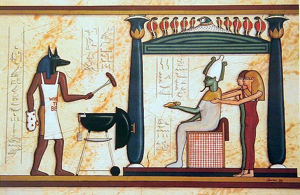 Osiris and Anubis weekend cookout