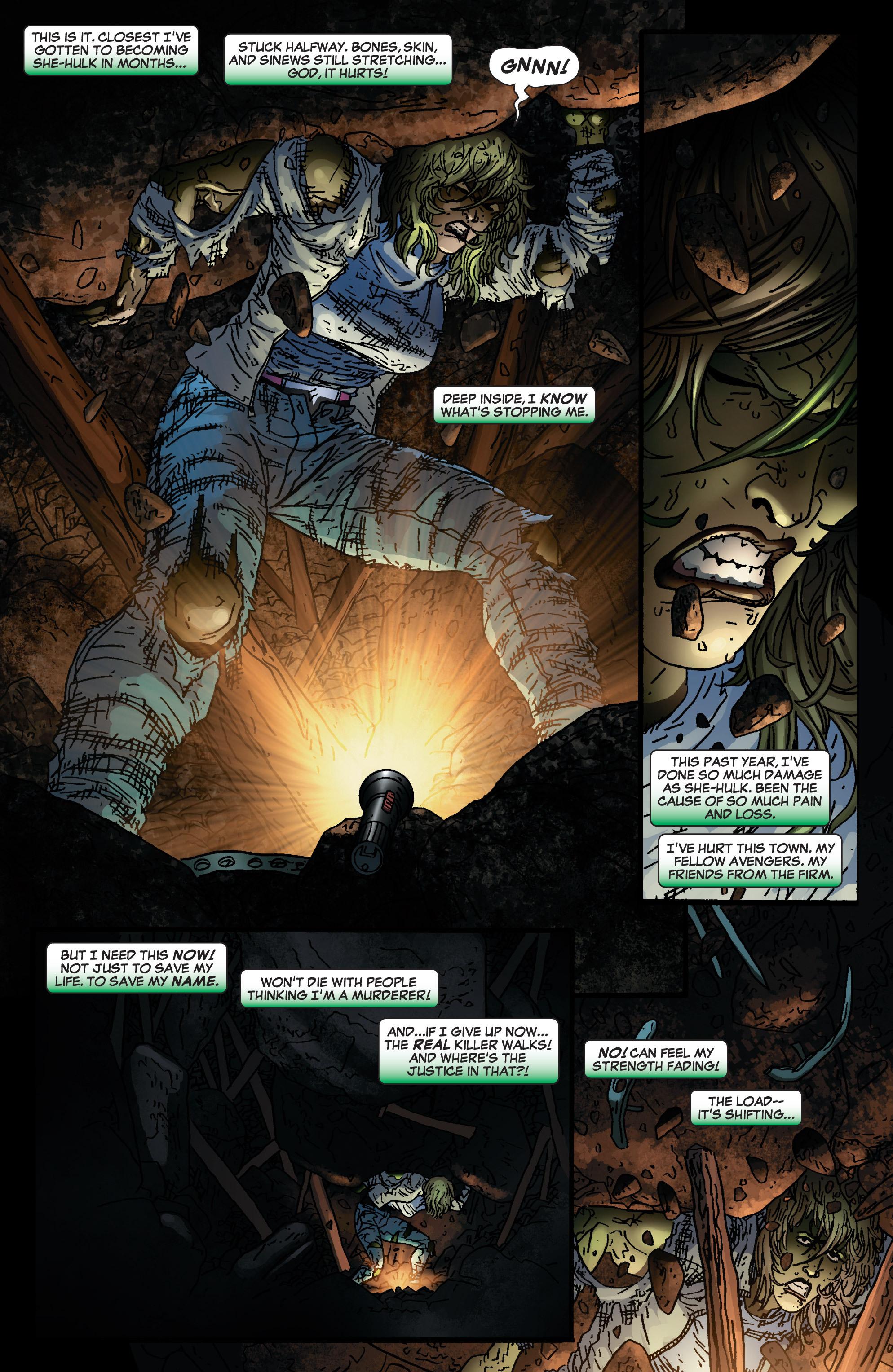 Read online She-Hulk (2005) comic -  Issue #4 - 17