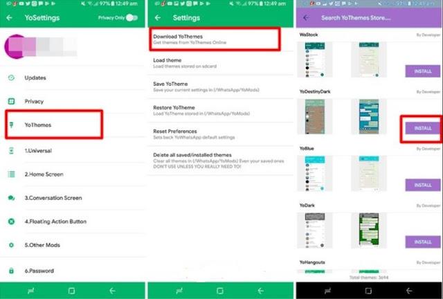 Cara Mengubah Tampilan WhatsApp Seperti Instagram