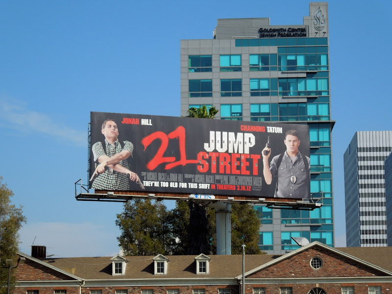 21 Jump Street remake billboard