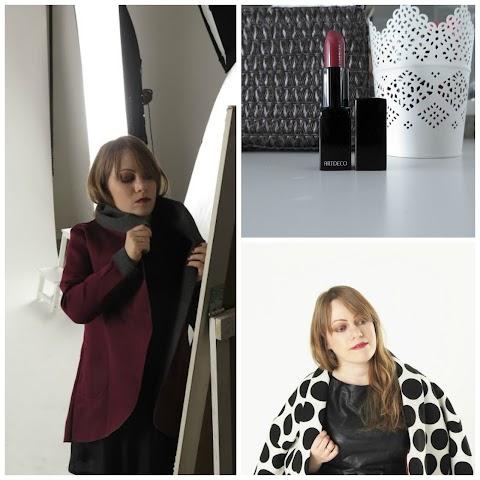 Artdeco Majestic Beauty Art Couture Lipstick Lūpų dažai 204 Cream Crimson Queen