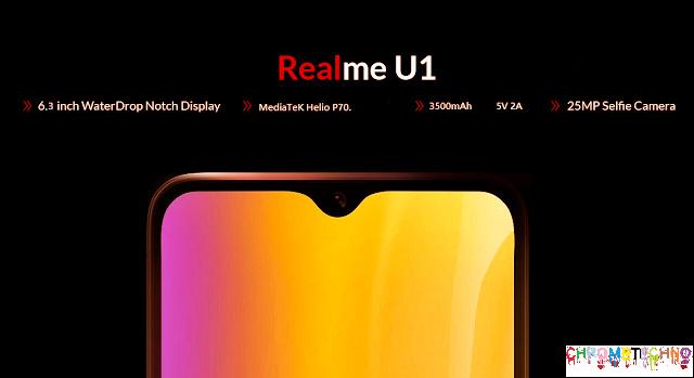 Realme U1 features