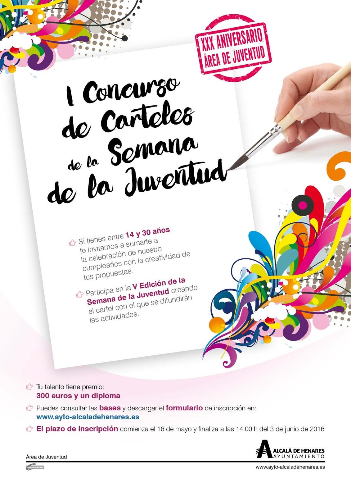 Cidaj Concurso Cartel Anunciador Semana De La Juventud