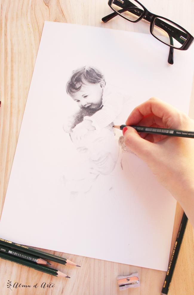 Dibujo a lápiz paso a paso