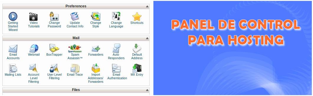 paneles de control para hosting gratis