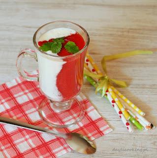 szybkie napoje na lato, desery owocowe