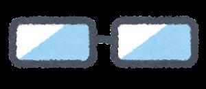 目の描かれた眼鏡のイラスト8