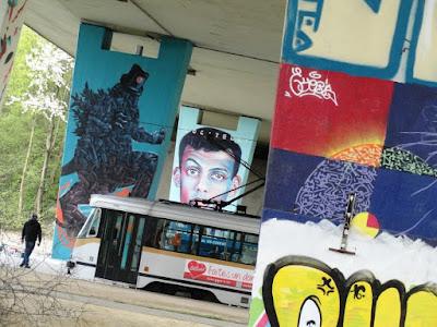 Neerpede brussel graffiti