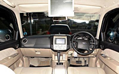 Interior Ford Everest Gen 2