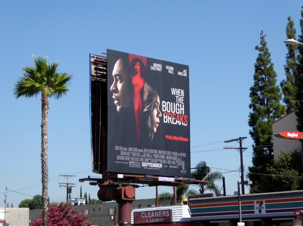 When the Bough Breaks film billboard