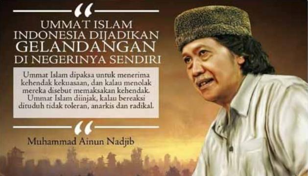 Pendukung Jokowi Ancam Akan Laporkan Cak Nun