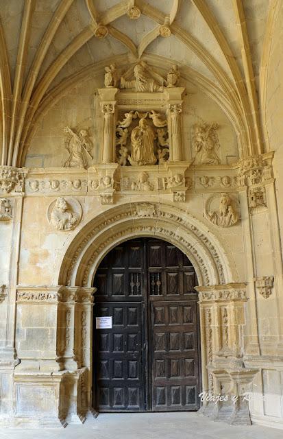 Puerta Speciosa, Monasterio de Irache