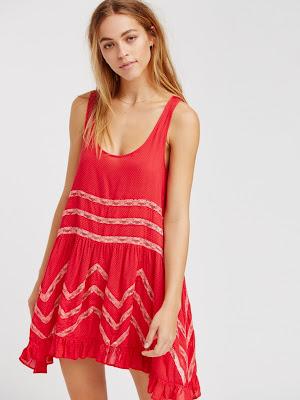 fotos de Vestidos Rojos Cortos