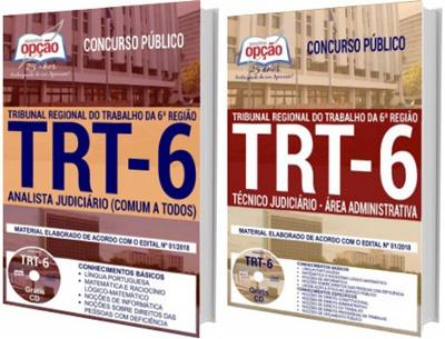 Apostila TRT PE 6ª Região 2018