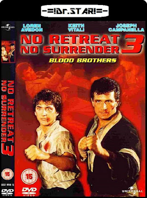 No Retreat, No Surrender 3 Blood Brothers 1990 Dual Audio BRRip 480p 300Mb x264