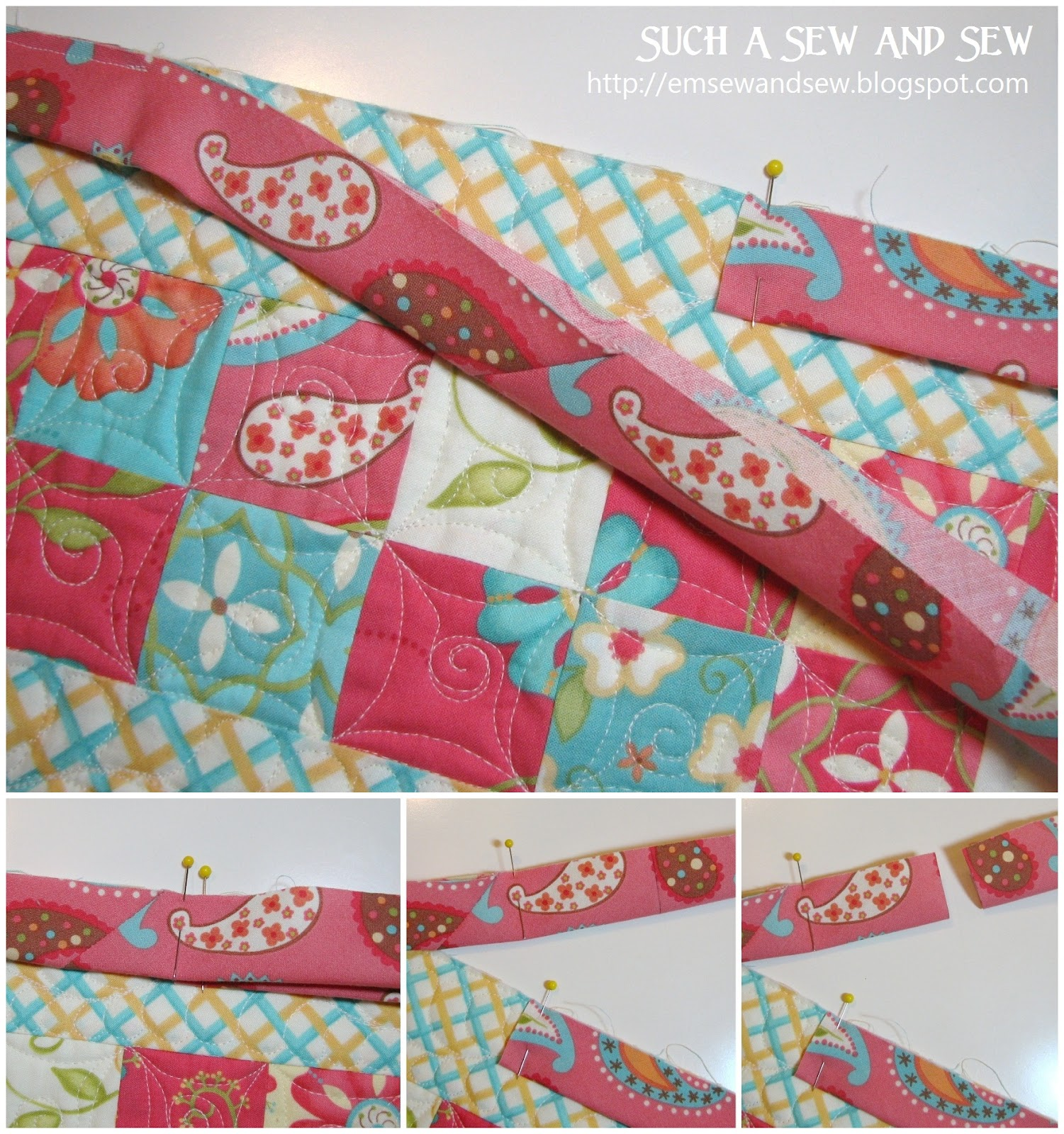 Such A Sew And Sew: Continuous Bias Binding Tutorial