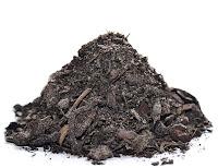 Organik komposto gübre yığını