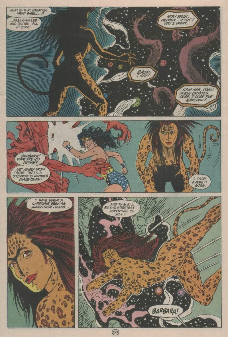 Read online Wonder Woman (1987) comic -  Issue #63 - 21