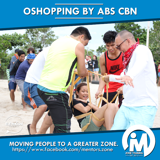 TEAM BUILDING: OShopping by ABS CBN
