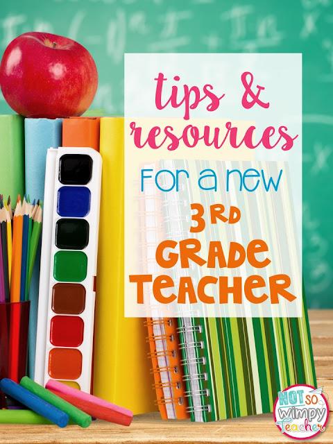 Advice for a new third grade teacher
