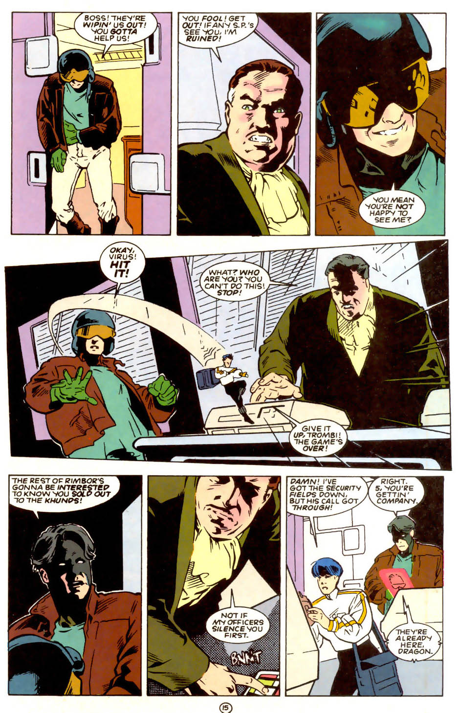 Legion of Super-Heroes (1989) 56 Page 15