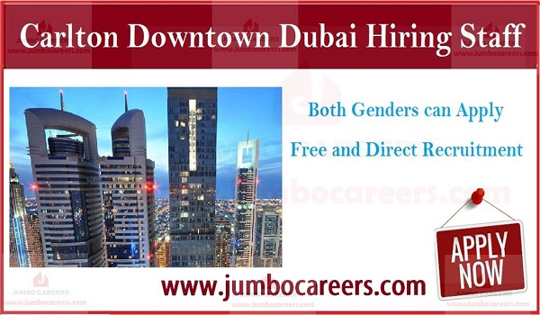 Available star hotel jobs in Gulf countries, Job openings in Dubai,