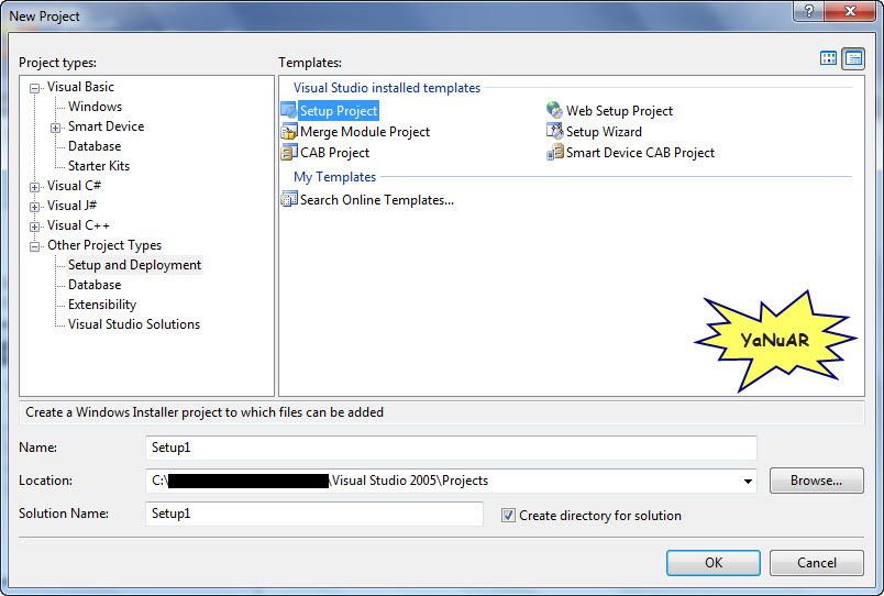 how to install vb.net 2005