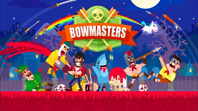Bowmasters v2.12 APK MOD Dinheiro Money Infinito Full