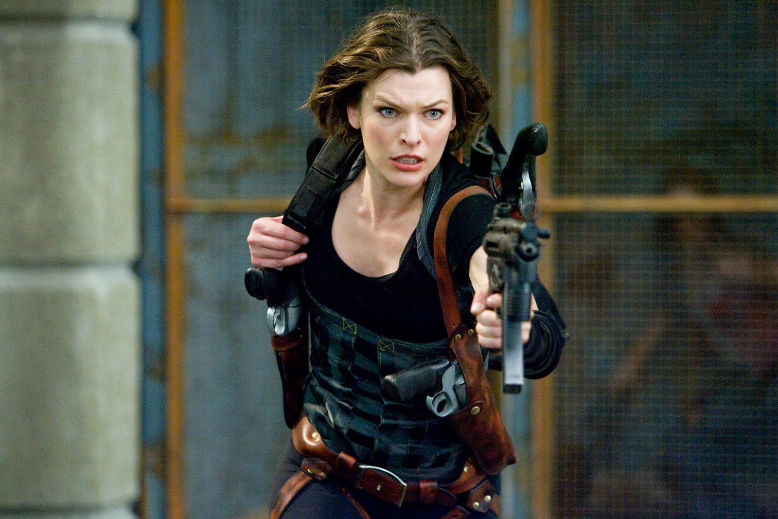 Celebrities, Movies and Games: Milla Jovovich Resident ...