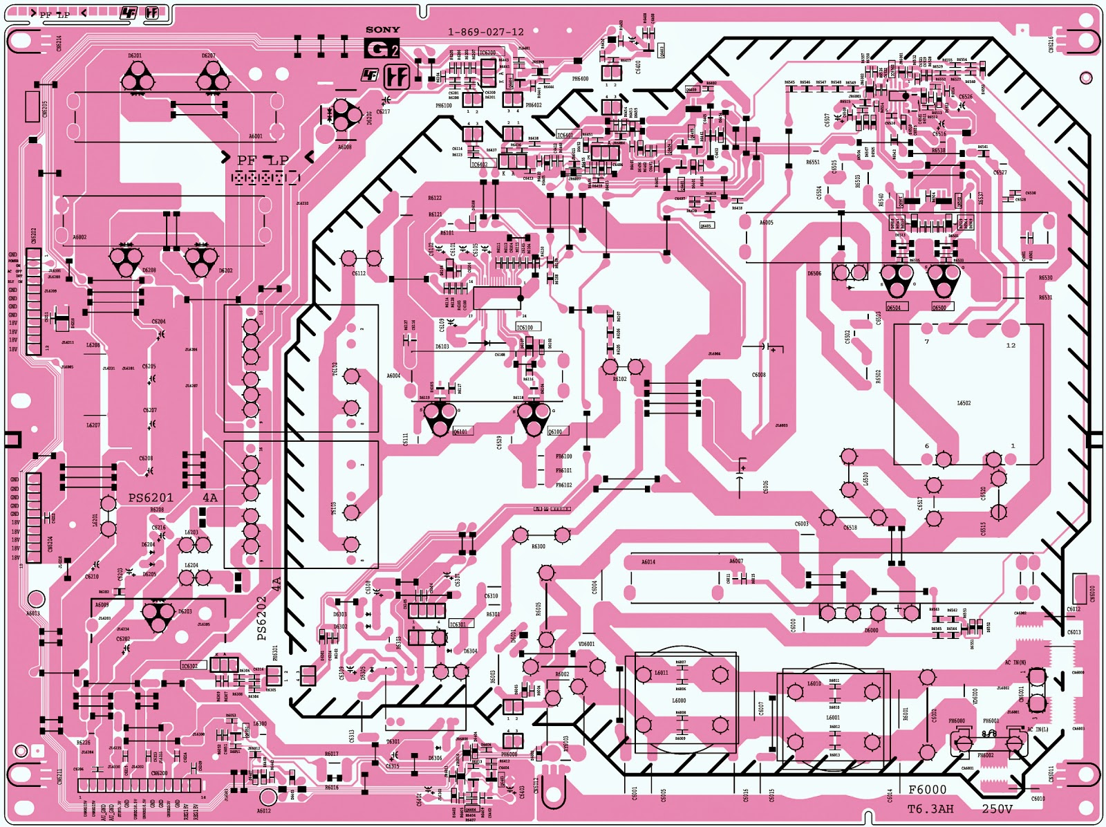 Electro Help  Lcd Tv Sony Klv 46s200a  Power Supply Schematic  Circuit Diagram
