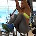 Gracyanne Barbosa mostra em vídeos sua sequência de abdominais suspensos