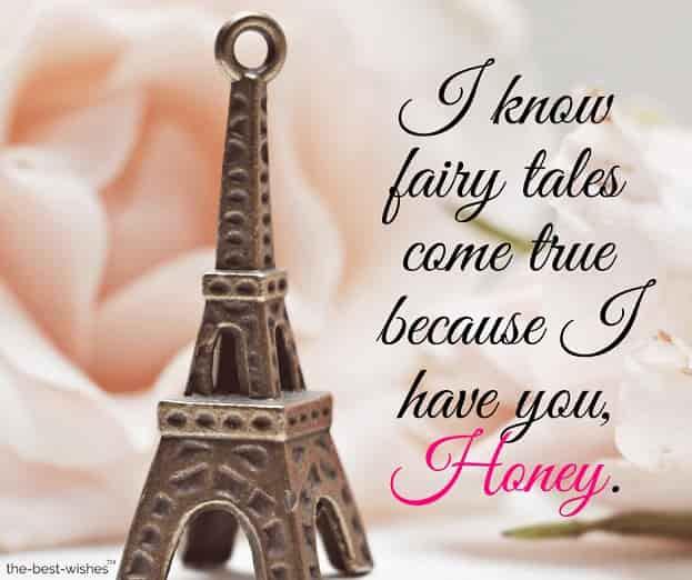 good morning honey love message