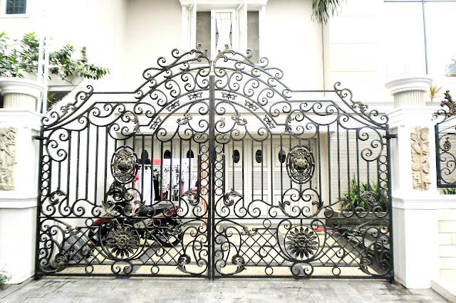 pagar besi tempa klasik pintu besi tempa pagar balkon besi
