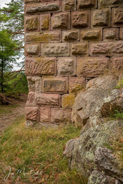 château du Bilstein Aubure - donjon