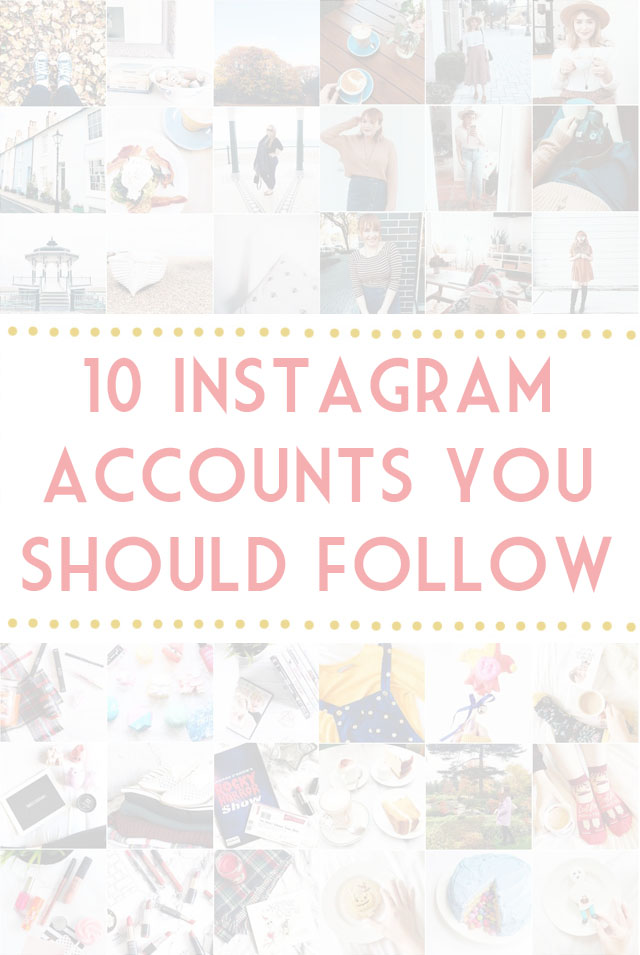 Best blogger Instagram accounts