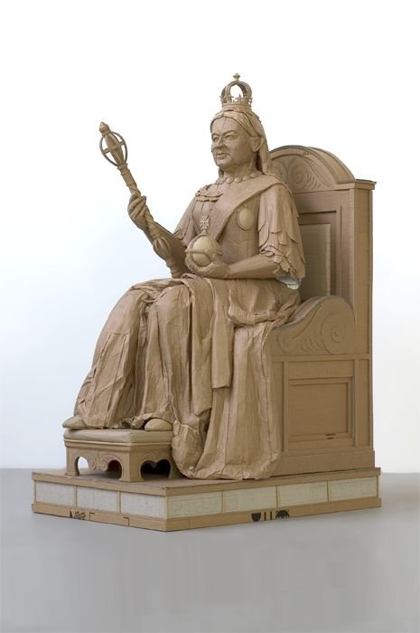 Скульптуры из картона. Chris Gilmour 60