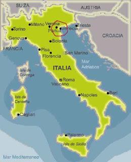 Venecia en Italia.