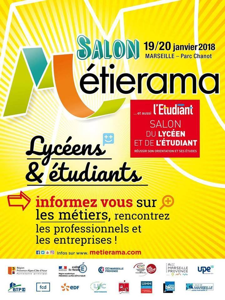Metierama 2018 19 20 janvier marseille parc chanot - Mission locale salon ...