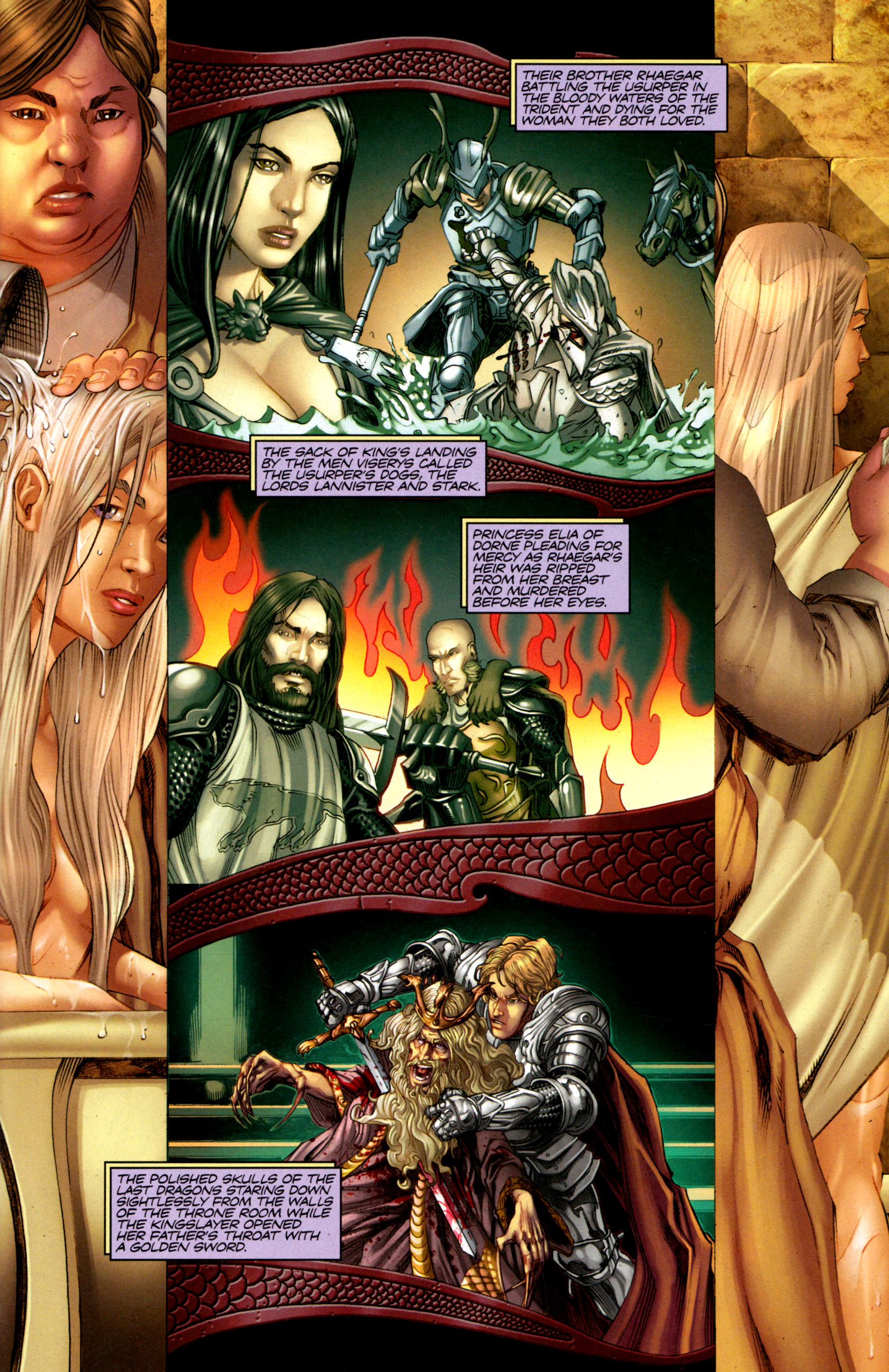 Read online A Game Of Thrones comic -  Issue #1 - 27