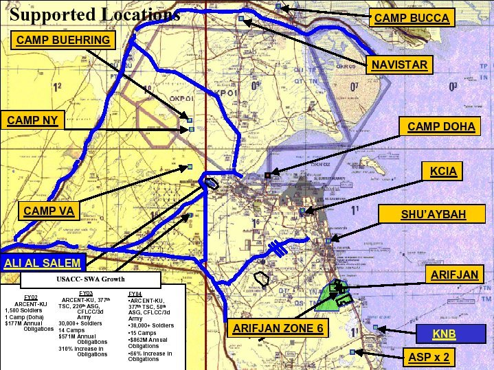 Kuwait | Mapas Geográficos do Kuwait