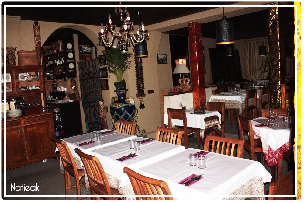 déco du  Restaurant Indonésien Djakarta Bali