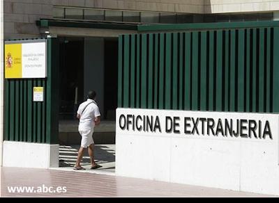 ¿Quién debe presentar cada procedimiento ante la Oficina de Extranjería?