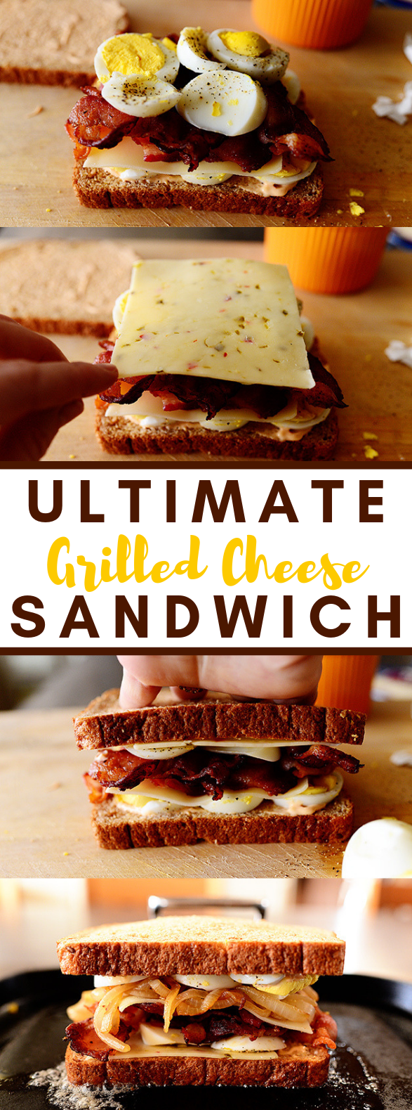 Ultimate Grilled Cheese Sandwich #diet #healthy