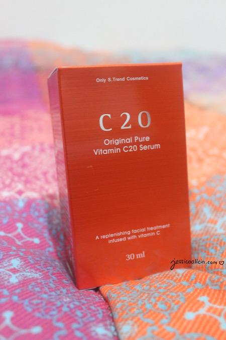 OST C20 Pure Vitamin Serum review by Jessica Alicia