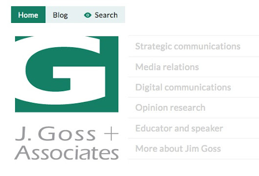 New website at www.jgoss.com