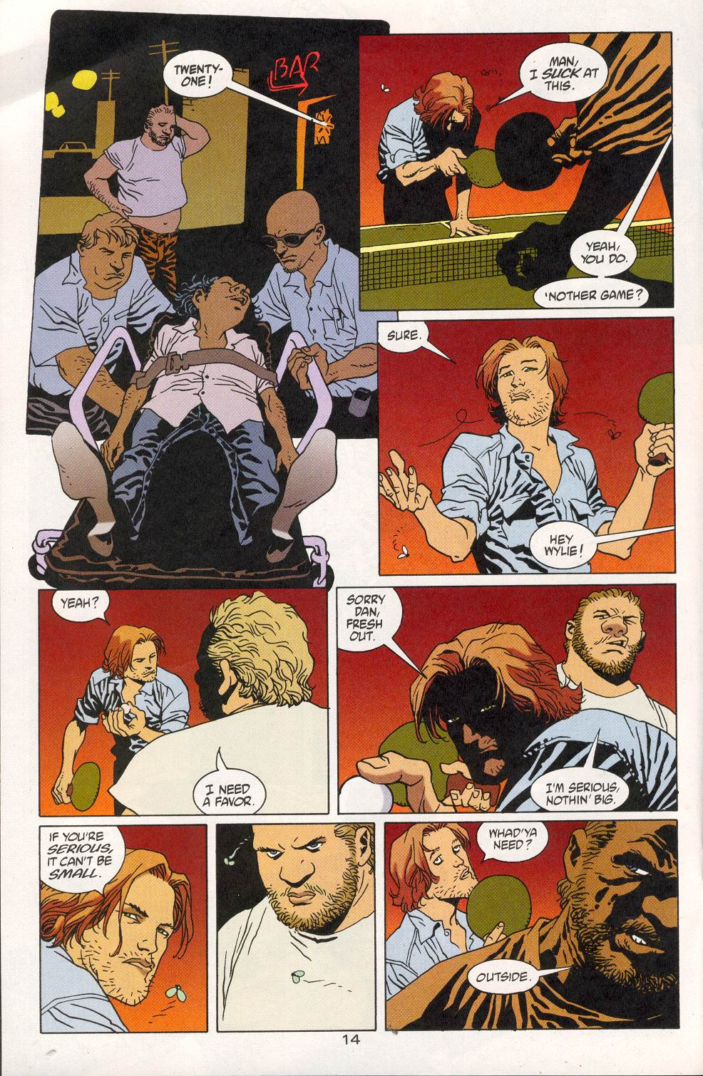 Read online 100 Bullets comic -  Issue #28 - 16